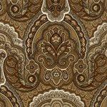 LWP62711W Crayford Paisley Sepia by Ralph Lauren