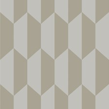 Grey and Silver Print Wallcovering by Cole & Son
