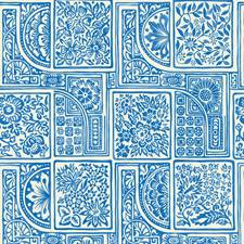Blue/White Print Wallcovering by Cole & Son